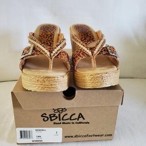 Sbicca wedge sandals